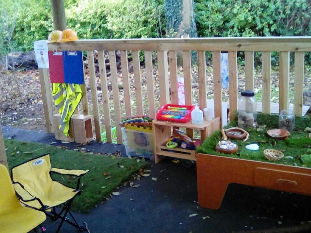 Rainbow Bears garden